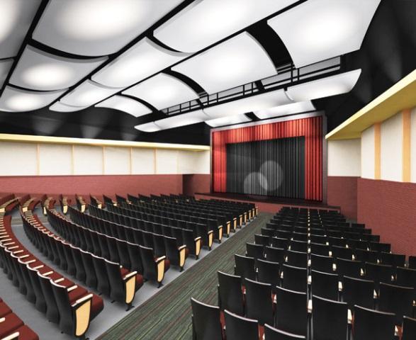 McDonogh #35 High School auditorium