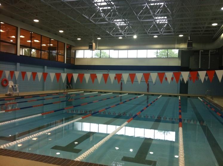 Swimming pool at Treme Center