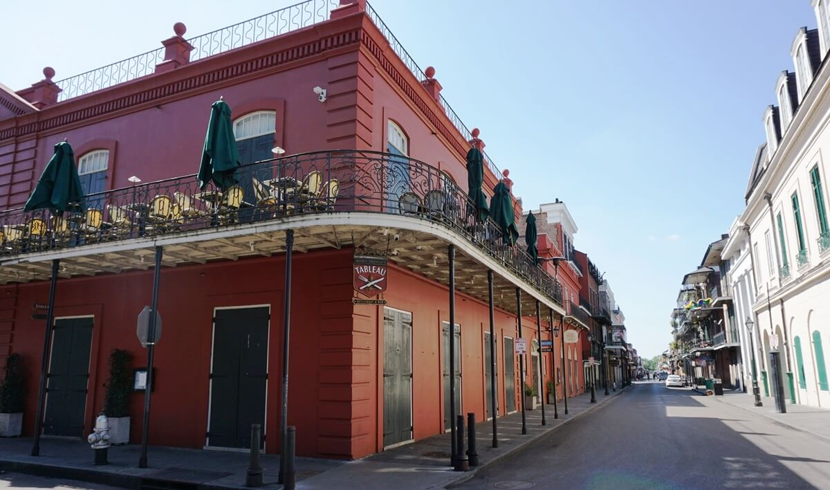 Le Petit Theatre and Tableau Restaurant in New Orleans