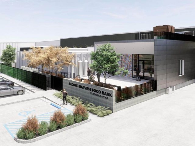 Rendering of Second Harvest Food Bank