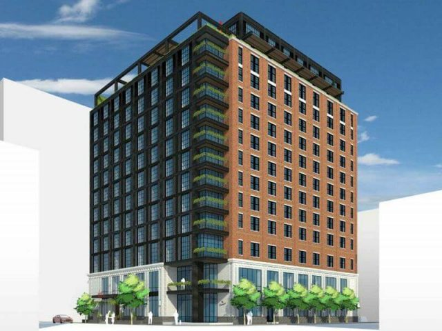 Rendering of the Virgin Hotel